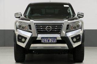 2015 Nissan Navara NP300 D23 ST (4x4) Black 7 Speed Automatic Dual Cab Utility.