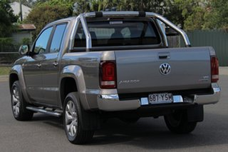 2018 Volkswagen Amarok 2H MY19 TDI550 4MOTION Perm Highline Mojave Beige 8 Speed Automatic Utility.