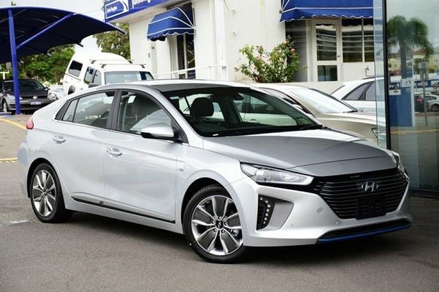 New Hyundai Ioniq AE.2 MY19 hybrid DCT Premium, 2019 Hyundai Ioniq AE.2 MY19 hybrid DCT Premium Platinum Silver Metallic 6 Speed