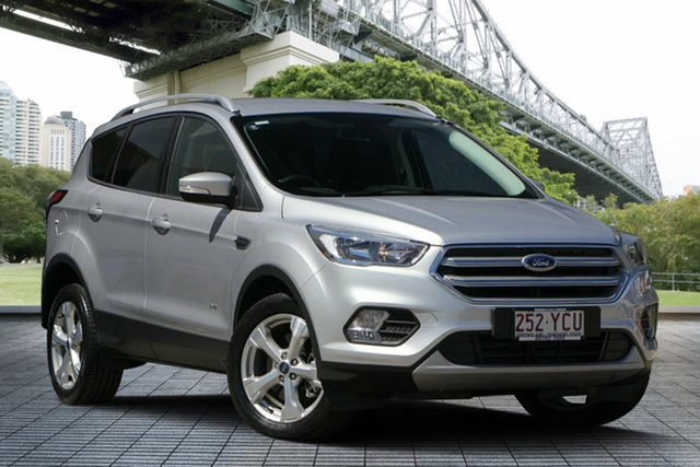 Used Ford Escape ZG 2018.00MY Trend PwrShift AWD, 2018 Ford Escape ZG 2018.00MY Trend PwrShift AWD Silver 6 Speed Sports Automatic Dual Clutch Wagon