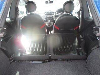 2015 Fiat 500 Series 3 S Linea Rossa Blue 6 Speed Manual Hatchback