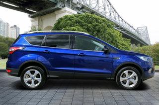 2018 Ford Escape ZG 2018.00MY Trend PwrShift AWD Blue 6 Speed Sports Automatic Dual Clutch Wagon.