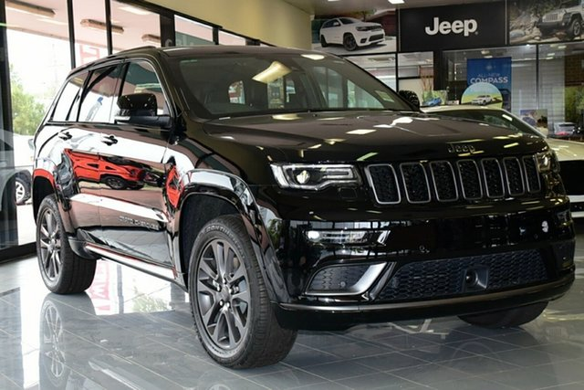 New Jeep Grand Cherokee WK MY19 Overland, 2019 Jeep Grand Cherokee WK MY19 Overland Diamond Black Crystal 8 Speed Sports Automatic Wagon