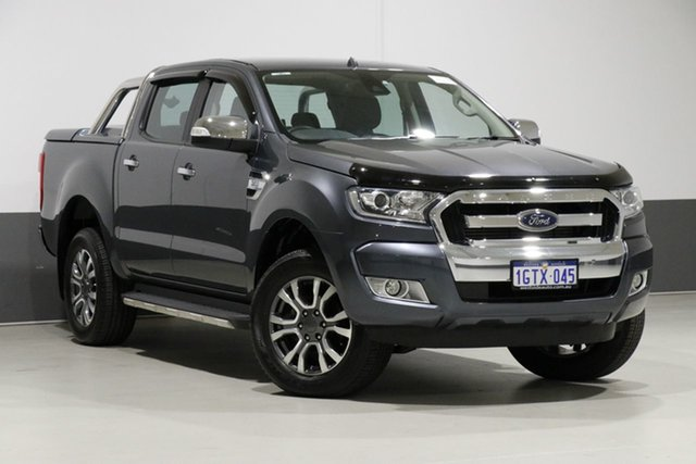 Used Ford Ranger PX MkII XLT 3.2 (4x4), 2015 Ford Ranger PX MkII XLT 3.2 (4x4) Grey 6 Speed Automatic Dual Cab Utility