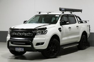 2016 Ford Ranger PX MkII XLT 3.2 (4x4) White 6 Speed Manual Dual Cab Utility.