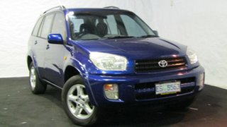 2000 Toyota RAV4 SXA11R Cruiser Blue 5 Speed Manual Wagon.