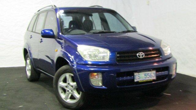 Used Toyota RAV4 SXA11R Cruiser, 2000 Toyota RAV4 SXA11R Cruiser Blue 5 Speed Manual Wagon