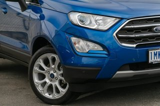 2018 Ford Ecosport BL 2019.25MY Titanium Blue 6 Speed Automatic Wagon.