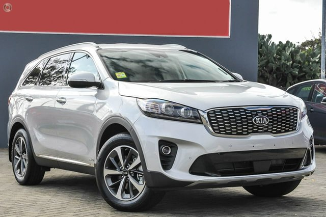 New Kia Sorento UM MY19 SLi AWD, 2019 Kia Sorento UM MY19 SLi AWD Silky Silver 8 Speed Sports Automatic Wagon
