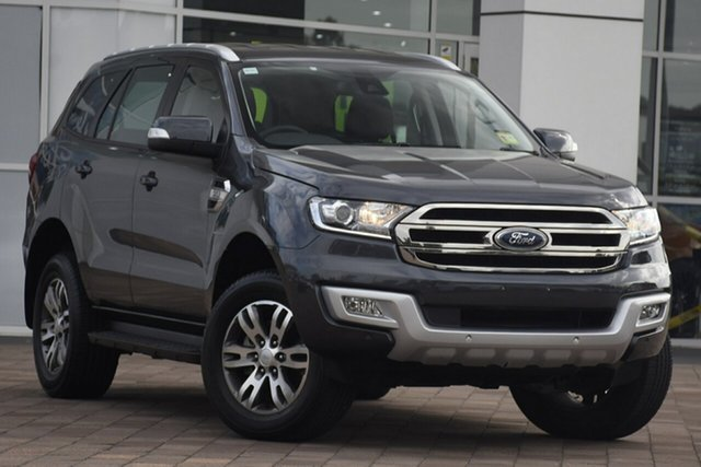 Used Ford Everest UA 2018.00MY Trend 4WD, 2018 Ford Everest UA 2018.00MY Trend 4WD Grey 6 Speed Sports Automatic SUV