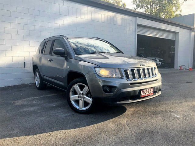 Used Jeep Compass MK Limited CVT Auto Stick, 2011 Jeep Compass MK Limited CVT Auto Stick Metallic Grey 6 Speed Constant Variable Wagon