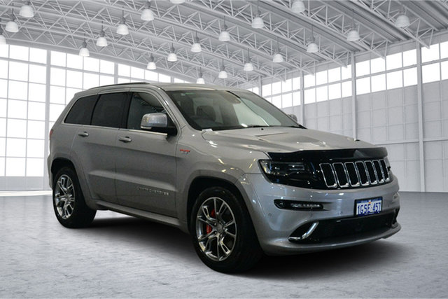 Used Jeep Grand Cherokee WK MY15 SRT, 2015 Jeep Grand Cherokee WK MY15 SRT Silver 8 Speed Sports Automatic Wagon