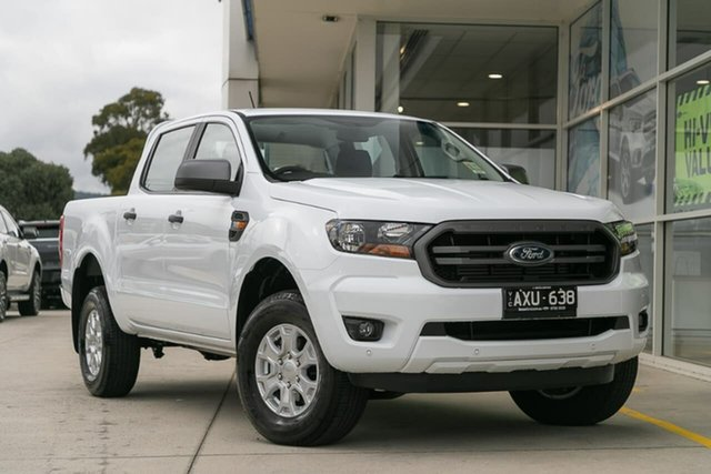 Demo Ford Ranger PX MkIII 2019.00MY XLS Pick-up Double Cab, 2018 Ford Ranger PX MkIII 2019.00MY XLS Pick-up Double Cab White 6 Speed Sports Automatic Utility