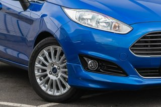 2017 Ford Fiesta WZ Sport PwrShift Blue 6 Speed Sports Automatic Dual Clutch Hatchback.