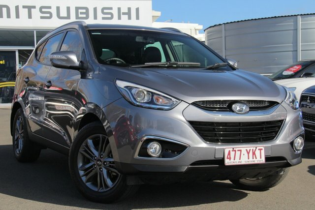 Used Hyundai ix35 LM3 MY15 SE, 2014 Hyundai ix35 LM3 MY15 SE Steel Grey 6 Speed Manual Wagon