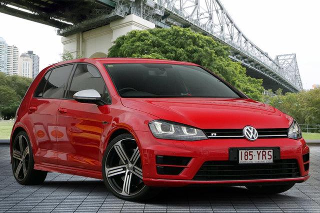 Used Volkswagen Golf VII MY14 R DSG 4MOTION, 2013 Volkswagen Golf VII MY14 R DSG 4MOTION Red 6 Speed Sports Automatic Dual Clutch Hatchback