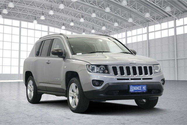 Used Jeep Compass MK MY16 Sport CVT Auto Stick, 2016 Jeep Compass MK MY16 Sport CVT Auto Stick Billet 6 Speed Constant Variable Wagon