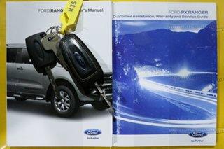 2015 Ford Ranger PX XL 3.2 (4x4) White 6 Speed Manual Super Cab Utility
