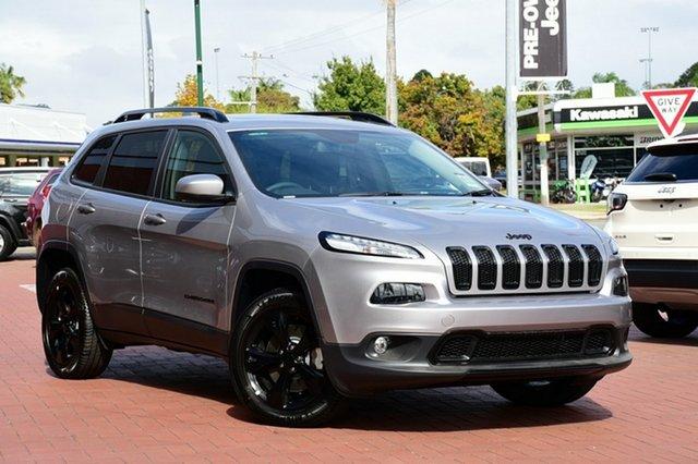New Jeep Cherokee KL MY18 Night Eagle, 2017 Jeep Cherokee KL MY18 Night Eagle Billet 9 Speed Sports Automatic Wagon