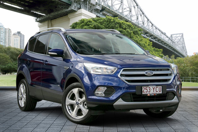 Used Ford Escape ZG 2018.00MY Trend PwrShift AWD, 2018 Ford Escape ZG 2018.00MY Trend PwrShift AWD Blue 6 Speed Sports Automatic Dual Clutch Wagon