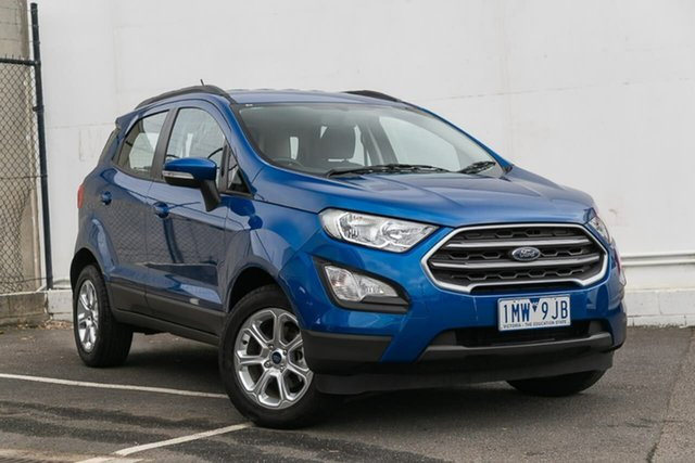 Used Ford Ecosport BL Trend, 2018 Ford Ecosport BL Trend Blue 6 Speed Automatic Wagon