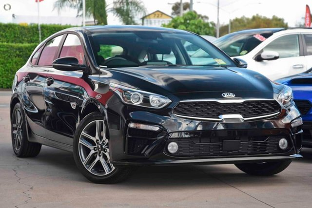 New Kia Cerato BD MY19 Sport, 2019 Kia Cerato BD MY19 Sport Aurora Black 6 Speed Sports Automatic Hatchback