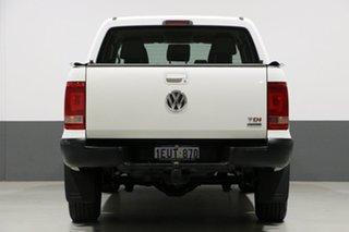 2014 Volkswagen Amarok 2H MY14 TDI400 Trendline (4x4) White 6 Speed Manual Dual Cab Utility