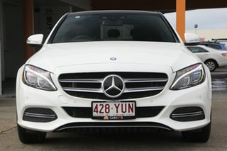 2014 Mercedes-Benz C250 W205 BlueTEC 7G-Tronic + White 7 Speed Sports Automatic Sedan