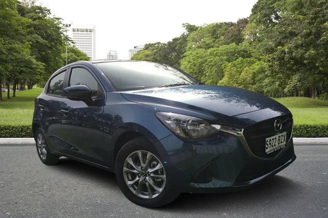 Demo Mazda 2 DJ2HAA Maxx SKYACTIV-Drive, 2019 Mazda 2 DJ2HAA Maxx SKYACTIV-Drive Eternal Blue 6 Speed Sports Automatic Hatchback
