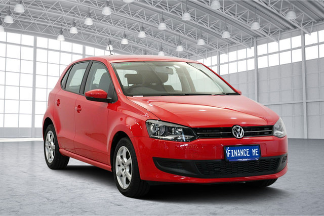 Used Volkswagen Polo 6R MY13.5 66TDI DSG Comfortline, 2013 Volkswagen Polo 6R MY13.5 66TDI DSG Comfortline Red 7 Speed Sports Automatic Dual Clutch