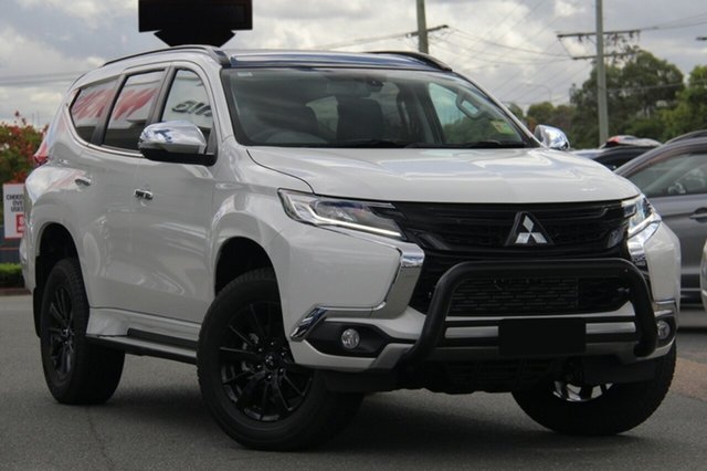 New Mitsubishi Pajero Sport QE MY19 Black Edition SAM (4x4) 7 Seat, 2018 Mitsubishi Pajero Sport QE MY19 Black Edition SAM (4x4) 7 Seat Starlight 8 Speed Automatic
