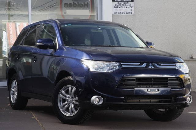 Used Mitsubishi Outlander ZJ MY13 LS 4WD, 2013 Mitsubishi Outlander ZJ MY13 LS 4WD Blue 6 Speed Constant Variable Wagon