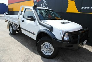 2008 Holden Rodeo RA MY08 LX Pure White 5 Speed Manual Cab Chassis.