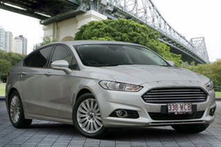 2015 Ford Mondeo MD Trend SelectShift Silver 6 Speed Sports Automatic Hatchback.