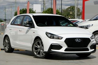 2020 Hyundai i30 PD.3 MY20 N Line D-CT Polar White 7 Speed Sports Automatic Dual Clutch Hatchback