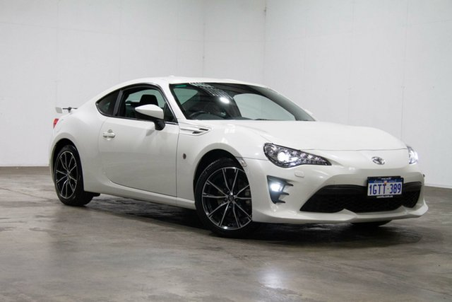 Used Toyota 86 ZN6 GTS, 2017 Toyota 86 ZN6 GTS White 6 Speed Sports Automatic Coupe
