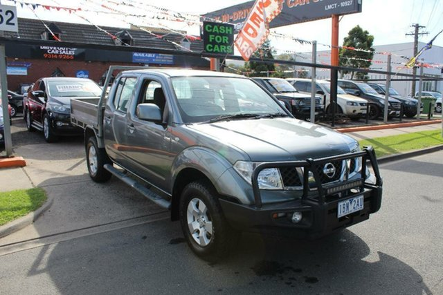 Used Nissan Navara D40 ST (4x4), 2011 Nissan Navara D40 ST (4x4) Grey 6 Speed Manual Dual Cab Pick-up