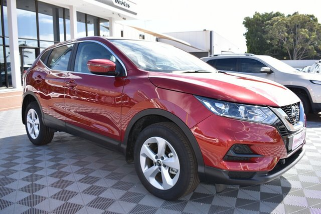 New Nissan Qashqai J11 Series 2 ST X-tronic, 2019 Nissan Qashqai J11 Series 2 ST X-tronic Magnetic Red 1 Speed Constant Variable Wagon