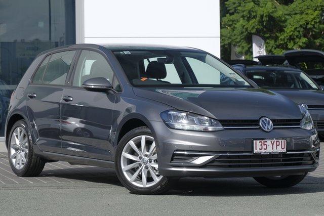Demo Volkswagen Golf 7.5 MY19 110TSI DSG Comfortline, 2018 Volkswagen Golf 7.5 MY19 110TSI DSG Comfortline Indium Grey 7 Speed
