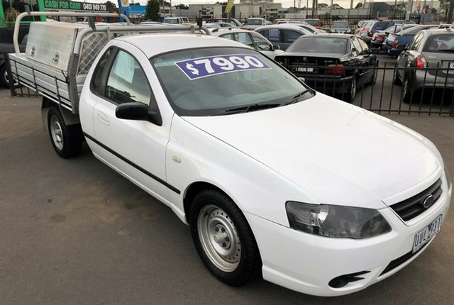 Used Ford Falcon BF Mk II , 2007 Ford Falcon BF Mk II XL Super Cab with RWC & REG 4 Speed Sports Automatic Cab Chassis