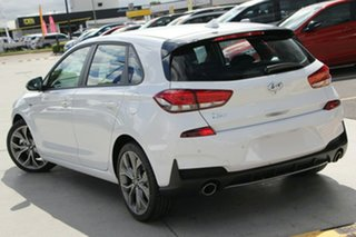 2019 Hyundai i30 PD.3 MY19 N Line D-CT Polar White 7 Speed Sports Automatic Dual Clutch Hatchback