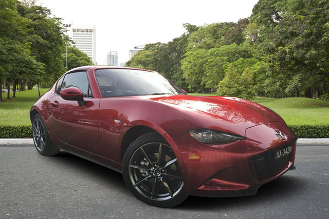 Demo Mazda MX-5 ND GT SKYACTIV-MT, 2019 Mazda MX-5 ND GT SKYACTIV-MT Soul Red 6 Speed Manual Roadster