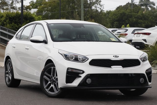 New Kia Cerato BD MY19 Sport, 2019 Kia Cerato BD MY19 Sport Clear White 6 Speed Sports Automatic Hatchback
