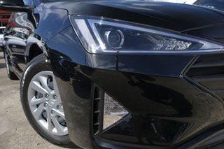 2018 Hyundai Elantra AD.2 MY19 Go Phantom Black 6 Speed Sports Automatic Sedan.