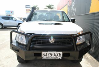 2008 Holden Rodeo RA MY08 LX Pure White 5 Speed Manual Cab Chassis