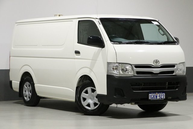 Used Toyota HiAce KDH201R MY12 Upgrade LWB, 2013 Toyota HiAce KDH201R MY12 Upgrade LWB White 5 Speed Manual Van