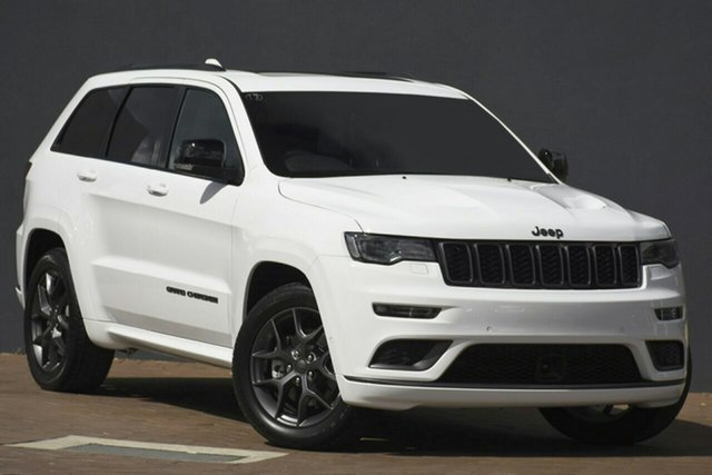 New Jeep Grand Cherokee WK MY20 S-Limited Nunawading, 2020 Jeep Grand Cherokee WK MY20 S-Limited Bright White 8 Speed Sports Automatic Wagon