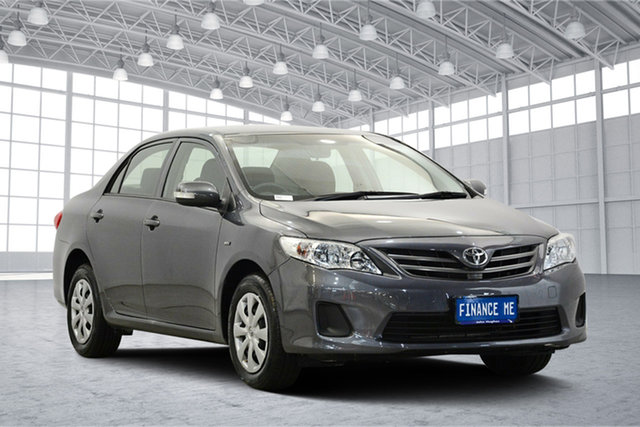 Used Toyota Corolla ZRE152R Ascent, 2013 Toyota Corolla ZRE152R Ascent Grey 4 Speed Automatic Sedan