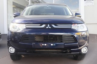 2013 Mitsubishi Outlander ZJ MY13 LS 4WD Blue 6 Speed Constant Variable Wagon