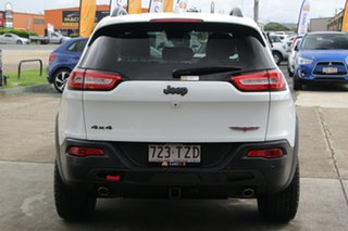 2014 Jeep Cherokee KL Trailhawk White 9 Speed Sports Automatic Wagon